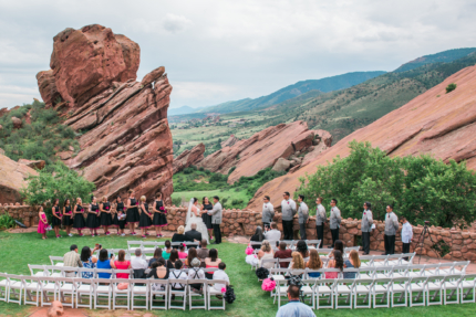 Colorado wedding photographer, red rocks