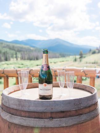 Colorado wedding photographer, Winter Park, wine