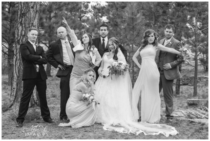 Colorado Springs wedding photography, Lodge at Cathedral Pines