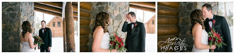 Colorado elopement photography, Devil's Thumb Ranch wedding