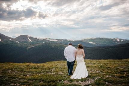 Colorado wedding photography, mountain elopement