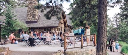 Colorado wedding photography, Chief Hosa Lodge, mountain wedding