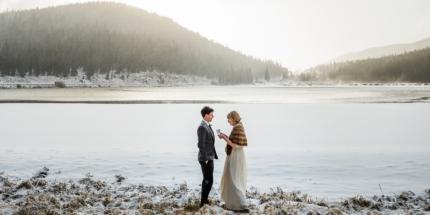 Echo Lake elopement, Colorado wedding photographer