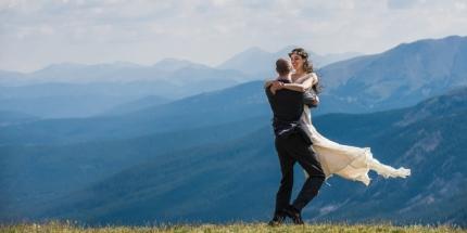 Hoosier Pass elopement, Colorado wedding photographer