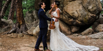 Evergreen, Colorado wedding photographer