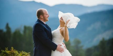 Rocky Mountain National Park Colorado wedding photographer
