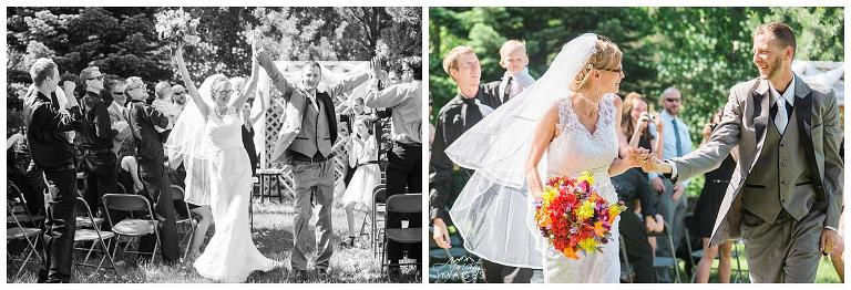 Black Forest wedding, Colorado, outdoor ceremony