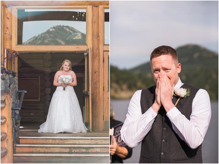 Evergreen Lake House wedding photography