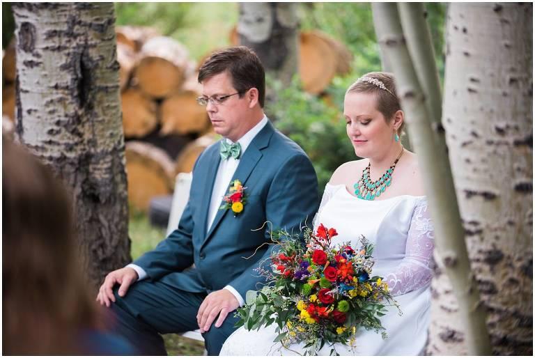 Snowy Range Lodge wedding, Wyoming photographer