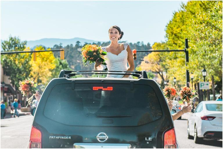 Estes Park wedding photography, YMCA of the Rockies