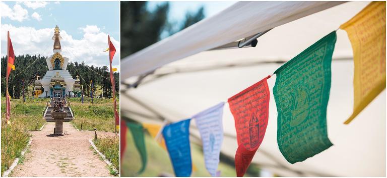 Red Feather Lakes wedding, Shambhala Mountain Center