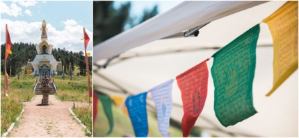 Red Feather Lakes wedding, Shambhala Mountain Center