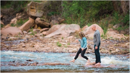Outdoor engagement, Lyons photography, Colorado