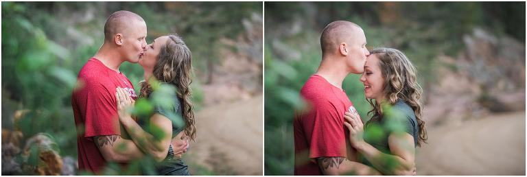 Outdoor engagement, Lyons photography