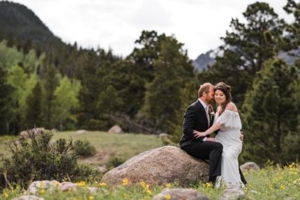 Rocky Mountain National Park, Estes Park wedding
